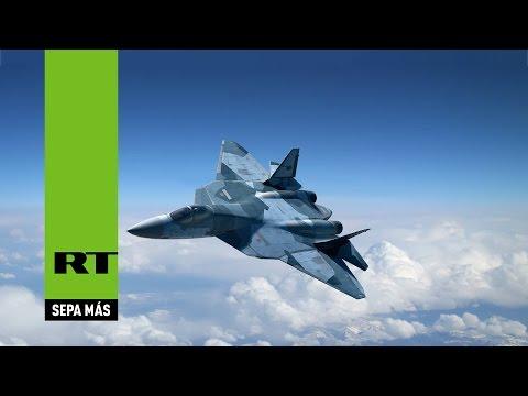 watch MAKS 2015: Increíbles acrobacias del caza furtivo PAK-FA T-50