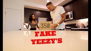 Fake YEEZY 350 Birthday Present Prank!