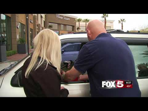 FOX5 Surprise Squad Hardworking Wife Surprised After Call to Radio Station