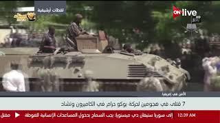 7 قتلى في هجومين لحركة بوكو حرام في الكاميرون وتشاد