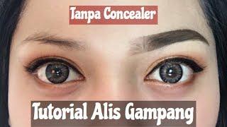 Eyebrow Routine Tutorial (Cara Buat Alis Gampang) Tanpa Concealer Indonesia   Nitha Fitria