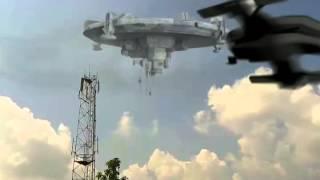 UFO On sky captured by ÝØĶØ.3gp