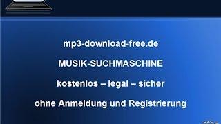 MP3-Download-Free.de - legale Musik Suchmaschine kostenlos ohne Anmeldung