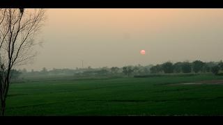 Winter Morning in a village at Bhadohi{भदोही-संत रविदास नगर जिला}