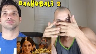Kannaa Nidurinchara | Baahubali 2 [REACTION]