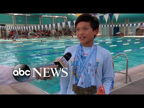 Xxx Mp4 10 Year Old Breaks Michael Phelps Record In The 100 Meter Butterfly 3gp Sex