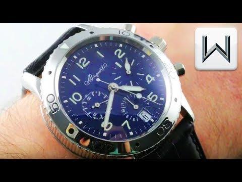 Xxx Mp4 Breguet Type XX Transatlantique BLUE PLATINUM Chronograph 3820PT E2 9W6 Luxury Watch Review 3gp Sex