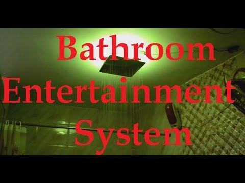 Bathroom Entertainment System | Music & LED Lights | makeover your bathroom | Hindi