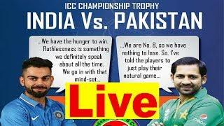 India vs Pakistan Final Champions Trophy 2017 || Gtv Live