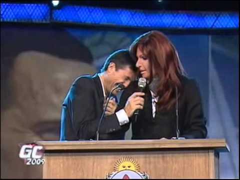 Nuevo discurso de Cristina en gran cuñado