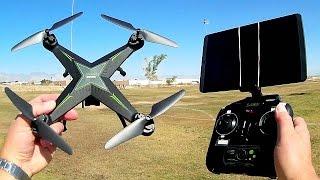 JDTOYS JD-10HW Long Flying WiFi FPV Drone Flight Test Review
