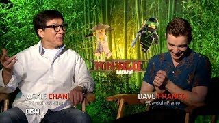 ANDREW FREUND BUILDS RELATIONSHIPS WITH THE STARS OF 'THE LEGO NINJAGO MOVIE'!