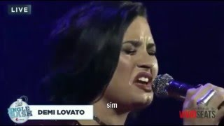 Yes (Live at Jingle Bash B96) - Demi Lovato [LEGENDADO/ TRADUÇÃO]