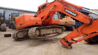 DOOSAN EXCAVATOR ,SOLD & SERVICE BY PLCL Ltd, Ghana
