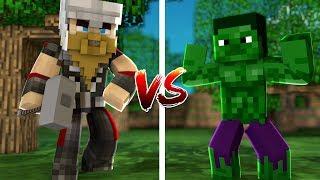 THOR SET VS HULK SET (Minecraft)