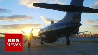 Plane that can be flown remotely - BBC News