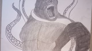 How to draw King Kong step by step (EasyToDraw)