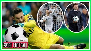 Real Madrid 1-1 Tottenham Cristiano Ronaldo drew Real level from the penalty spot on 43 minutes