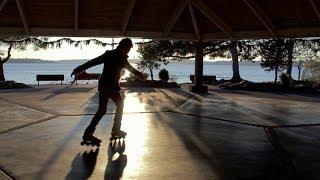 Best Rollerblade Freestyle!! Inline skate on streets!