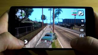 GTA San Andreas - Nexus 5 Gameplay [MAX GRAPHICS]