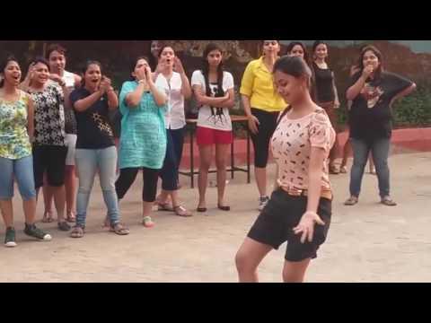 College Girls From Odisha Dancing On Rahman's Muqabala