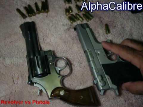 Revólver vs. Pistola Ventajas y Desventajas