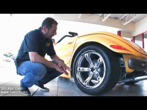 1999 Plymouth Prowler for sale with test drive driving sounds and walk through video