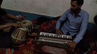 Kishan kumar jha performing tin tal 16 matra