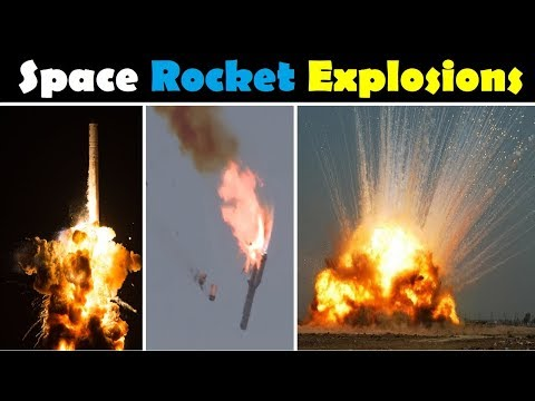 Rocket Launch Failures and Explosions Compilation 2016 1942