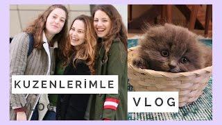 VLOG | Kuzenlerle Bir Gün, Alışveriş, Anneler Günü Sürprizi, LİLA!!!