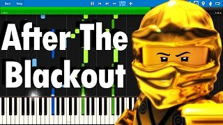LEGO NINJAGO - After The Blackout by The Fold | Synthesia piano tutorial