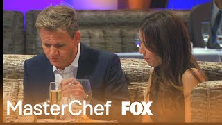 Gordon And Tana Enjoy Dinner | Season 5 Ep. 12 | MASTERCHEF