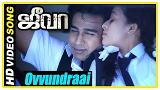 Jeeva Tamil movie | scenes | Sri Divya proposes to Vishnu | Ovvundraai Song | Siva beats Vishnu