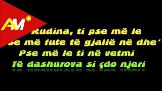 Andi Shkoza - Rudina (Official lyrics Video)