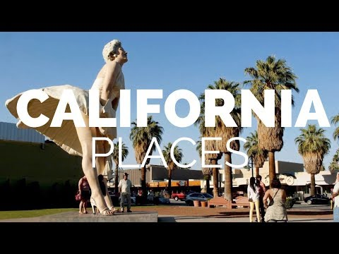 10 Best Places to Visit in California Travel Video