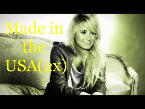 watch Demi Lovato-Made In The USA-Lyrics
