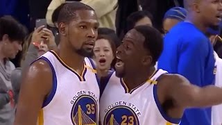 Draymond Green KICKS Steph Curry and Kevin Durant (Verbally) After Warriors Blow 24-Point Lead