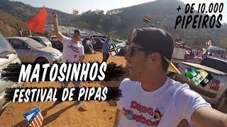 Matosinhos o segundo maior festival de pipas do Brasil