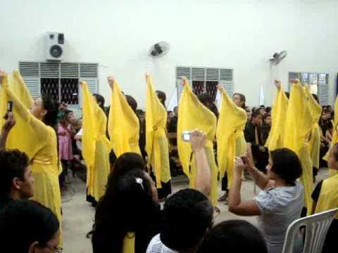 Grupo de gesto setor 8 valentina hino SETE TROMBETAS