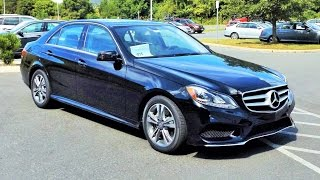 2016 Mercedes Benz E250 E-Class BlueTEC 4MATIC Twin Turbo Diesel Start Up, Review and Tour
