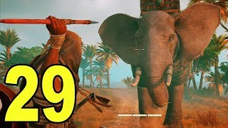 Assassin's Creed Origins - Part 29 - ELEPHANT FIGHT!