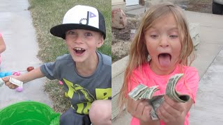 KIDS FIND TONS OF MONEY!