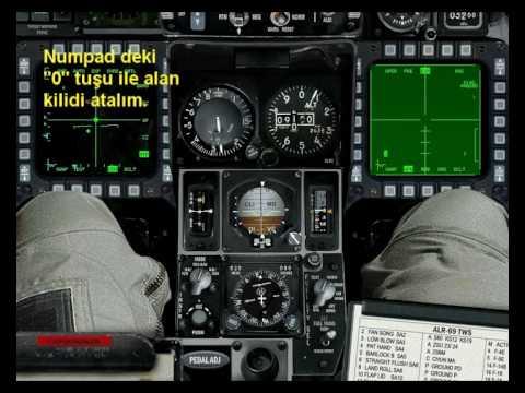 F-16 Maverick füzesi atışı