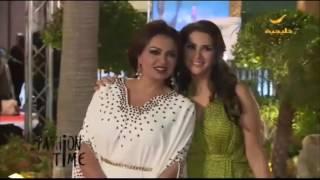 لقطات من أزياء المشاهير في مهرجان ضيافة