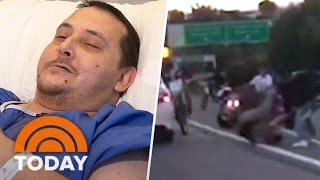 Biker Road Rage Victim Speaks Out: 'I Definitely Was Afraid For My Life' | TODAY