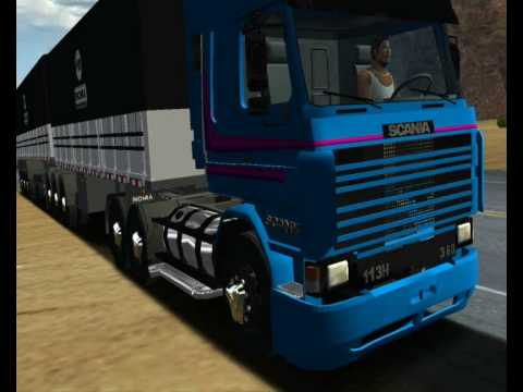SCANIA 113H FRONTAL ESCAPE ORIGINAL SOUND HAULIN
