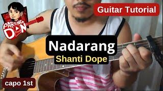 Nadarang chords with Capo (Shanti Dope) guitar tutorial