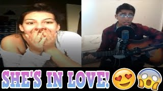 YOUNOW SINGING | SHE'S IN LOVE! [BEST REACTIONS] [2017]