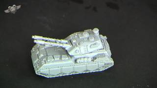The Voltigeur... NuCoal's Heavy Battle Tank (Heavy Gear Week Unboxing)