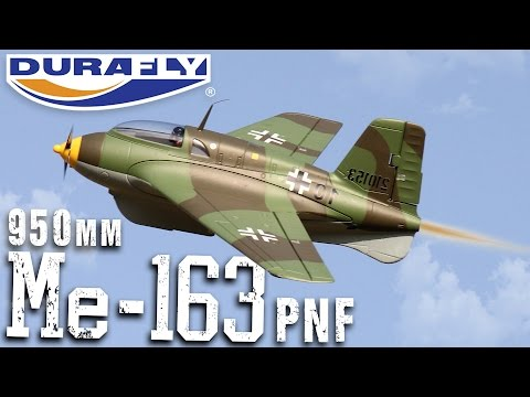 Durafly Me-163 Komet - RC Rocket Powered Fighter! - Product Video
